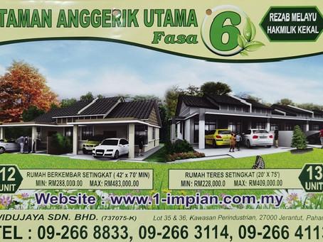 TAMAN ANGGERIK UTAMA FASA 6 @ Bentong