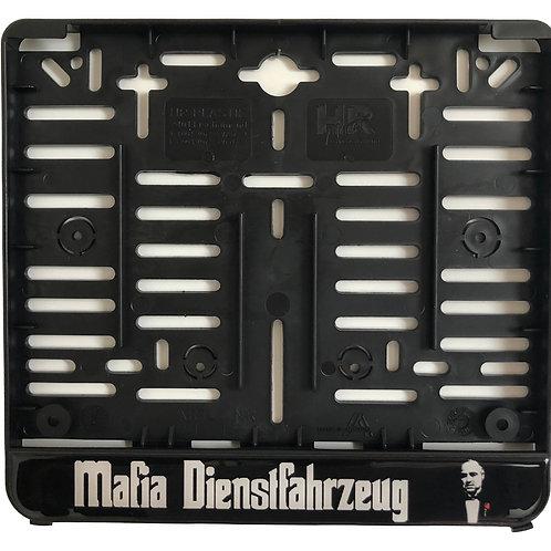 """Kennzeichenhalter """"Mafia Dienstfahrzeug"""" (für österr. Kennzeichen!!)"""
