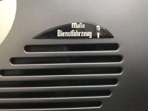 "Plakette Lüftungsgitter ""Mafia Dienstfahrzeug"""