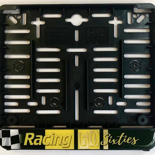 """Kennzeichenhalterung """"Racing Sixties grün"""" (für österr. Kennzeichen!!)"""