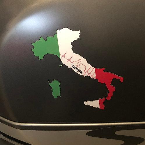 """Aufkleber """"Italy"""""""