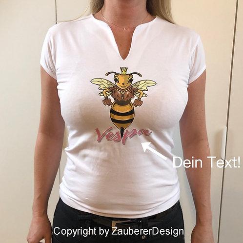 "Damen T- Shirt  ""Lady Wasp"""