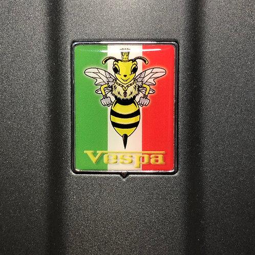 """Plakette für die Kaskade """"Italo mit Lady Wasp"""""""