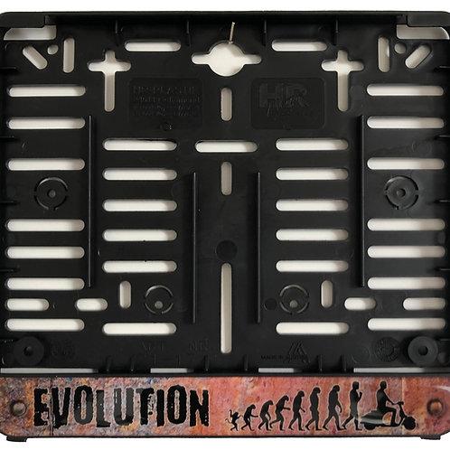 """Kennzeichenhalterung """"Evolution"""" (für österr. Kennzeichen!!)"""