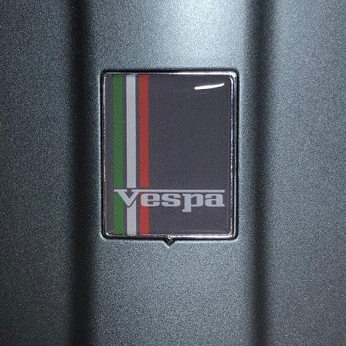 """Plakette für die Kaskade """"Vespa grey"""""""