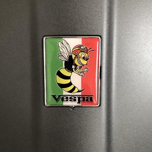 """Plakette für die Kaskade """"Italo mit crazy Wasp"""""""