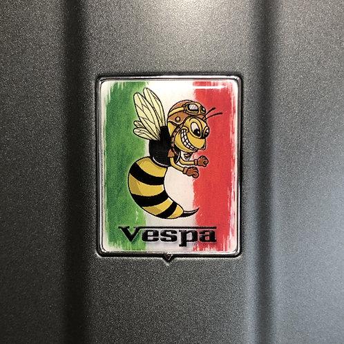 """Plakette für die Kaskade """"Italo mit crazy Wasp Retro"""""""