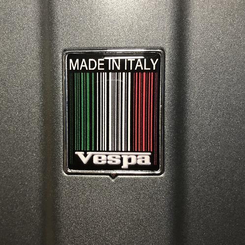 """Plakette für die Kaskade """"Made in Italy"""""""