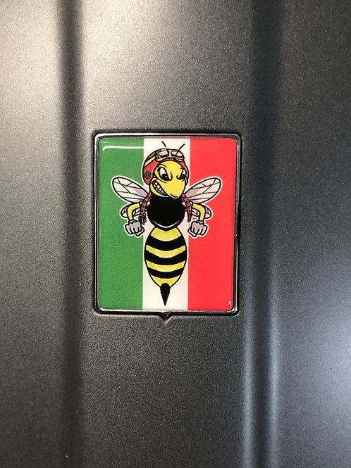 """Plakette für die Kaskade """"Italo mit bad Wasp"""""""
