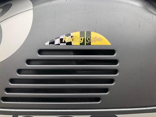 """Plakette Lüftungsgitter """"Racing Sixties Green"""""""