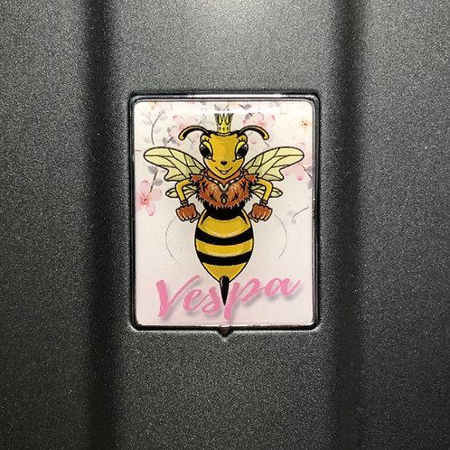 """Plakette für die Kaskade """"Lady Wasp"""""""