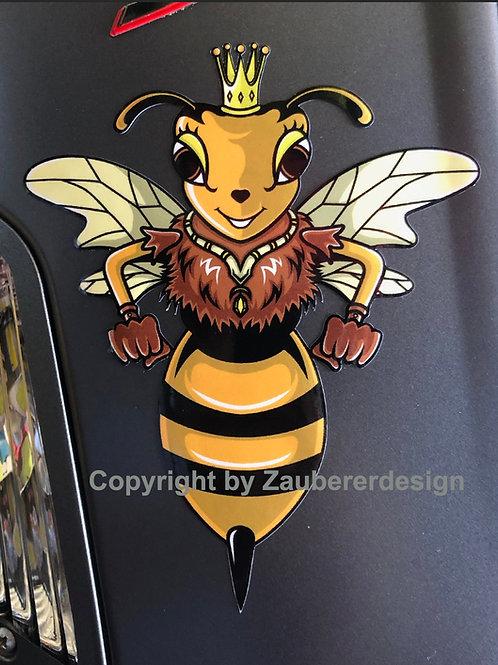 """Aufkleber """"Lady Wasp"""""""