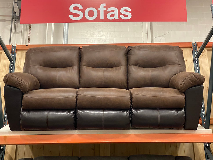 Ashley Follett Reclining Sofa (STOCK SPECIAL)