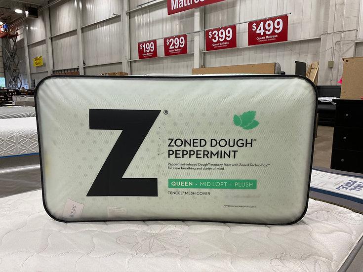 Malouf Zoned Dough Peppermint Queen Pillow- 87308