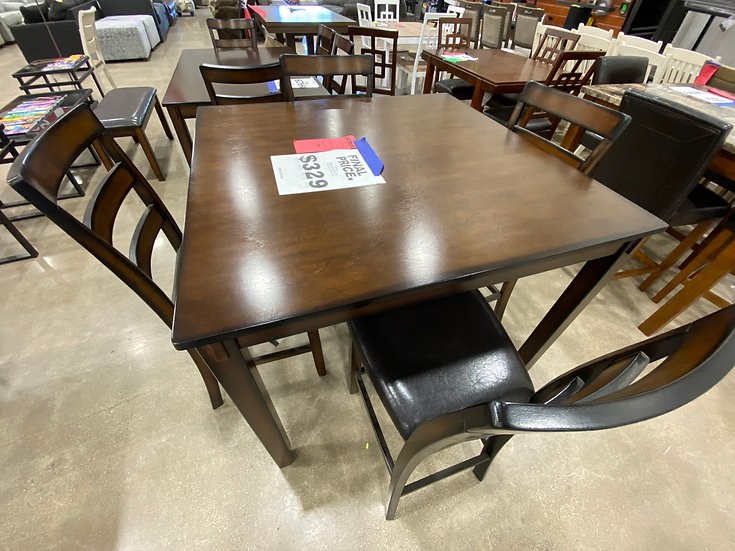 Ashley Coviar Pub Height Table Set (STOCK SPECIAL)