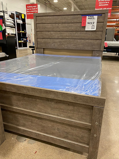 Ashley Culverbach King Panel Bed Frame (STOCK SPECIAL)