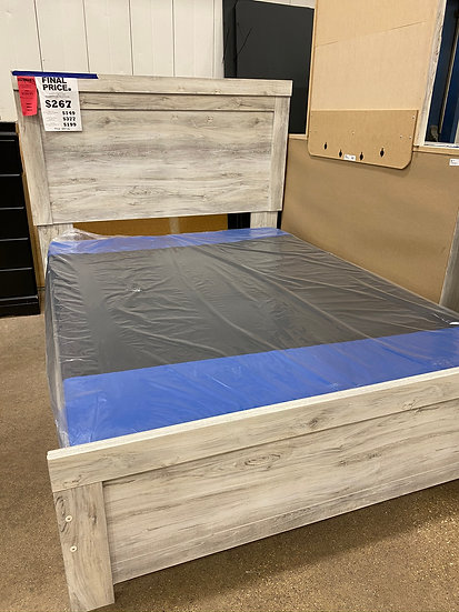 Ashley Bellamy King Panel Bed Frame (STOCK SPECIAL)