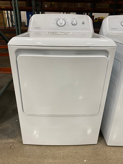 Hotpoint 6.2 CF Gas Dryer White (STOCK SPECIAL)