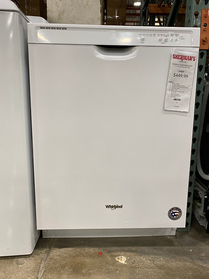 """Whirlpool 24"""" Dishwasher White (STOCK SPECIAL)"""