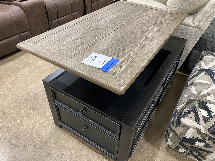 Ashley Tyler Creek Lift Top Cocktail Table- 000650