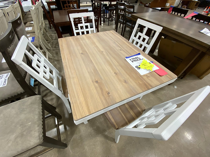 Ashley Brovada 5 Piece Table Set (Stock Special)