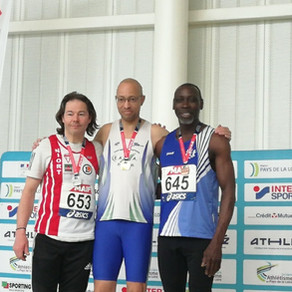 Médaille de bronze pour Alain aux Championnats de France Masters de Nantes