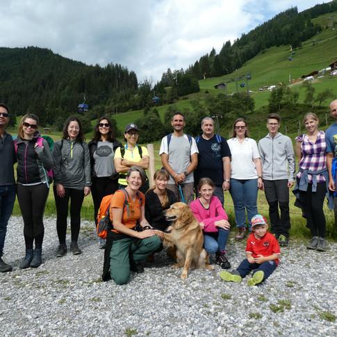 2019-08-20 Gadaunerer Hochalm +Fam Wanderung
