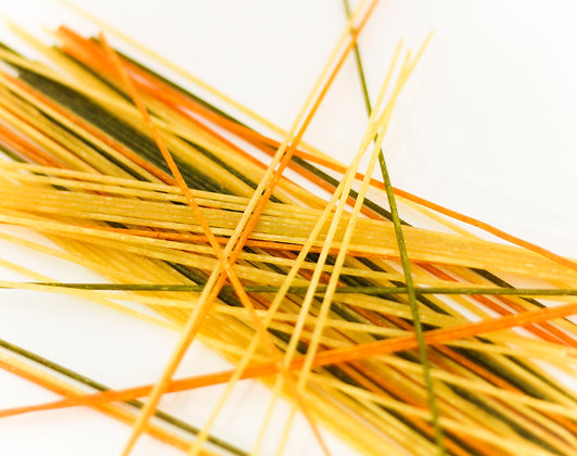 Bio-Hartweizen Bunte Spaghetti 300g
