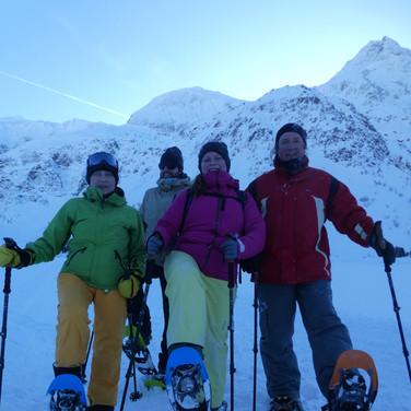 2019-12-26 Sportgastein Schneeschuh