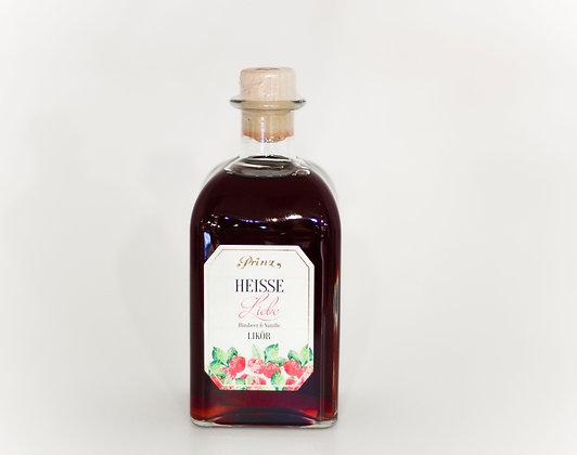 Heiße Liebe 500 ml Himbeer Vanille