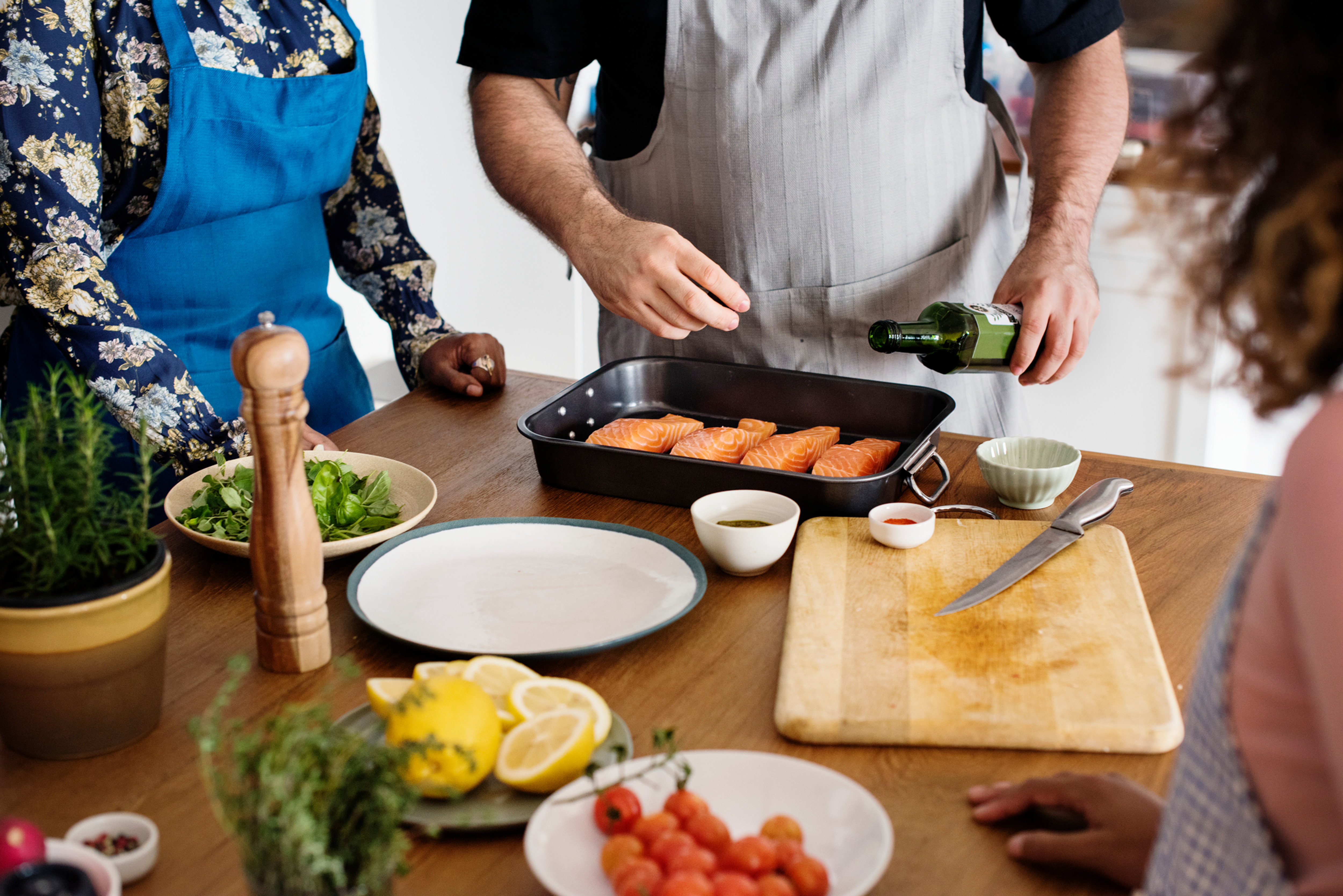 In-home Group Private Cooking Course