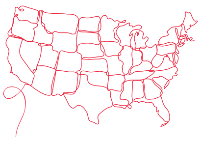 Red Line Drawing Map of U.S. .png
