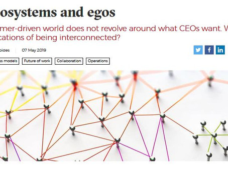 "ECOSYSTEMS: ""A Paradigm Shift in Business"""