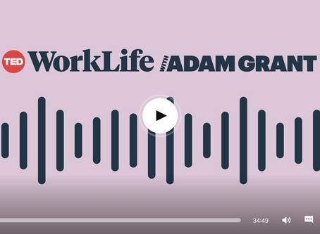 ADAM GRANT ON CAREER PASSION