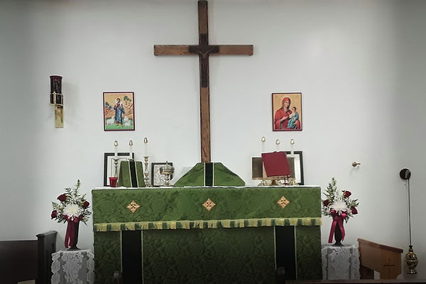 Altar for Trinity 10