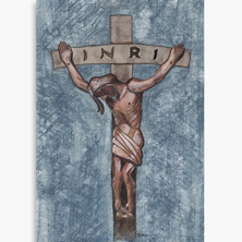 Crucifixion Art Print on Canvas