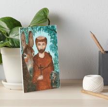 Saint Francis Art Board Print