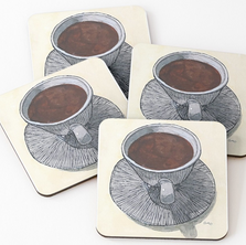 Cup of Coffee Coasters