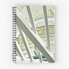 First Order Lightstation #7 Spiral Notebook