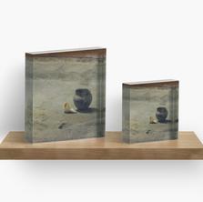 Earthlodge Interior Acrylic Blocks