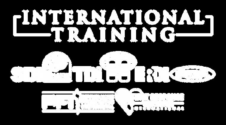International-Training-All-White-Logos-T