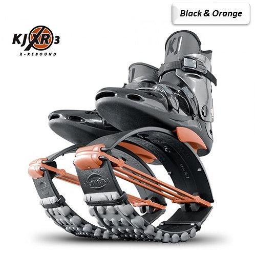 Black & Orange - Kangoo Jumps Rebound Boots