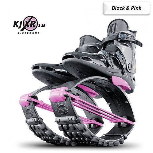 Black & Pink - Kangoo Jumps Rebound Boots