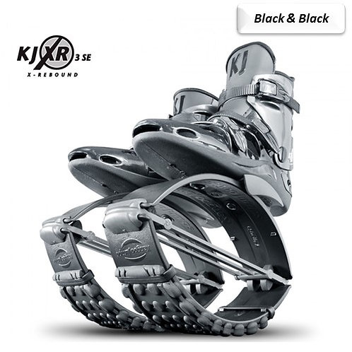 Black & Black - Kangoo Jumps Rebound Boots