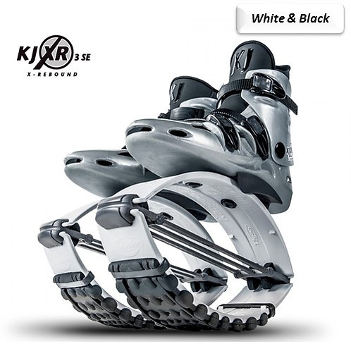 White & Black - Kangoo Jumps Rebound Boots