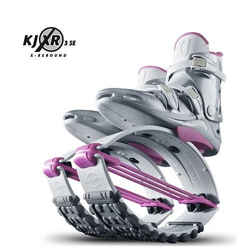 White & Pink - Kangoo Jumps Rebound Boots