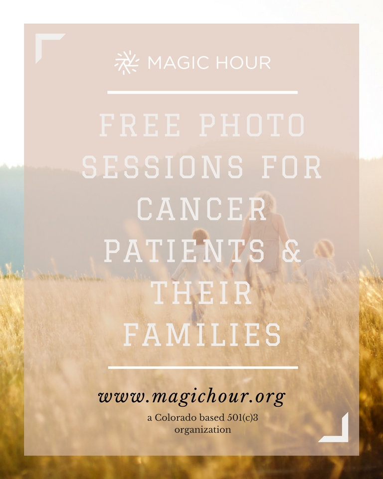 Free Photo Sessions for Cancer Patients and Families