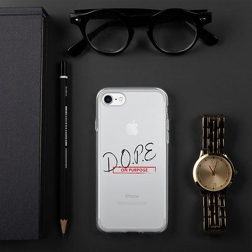 D.O.P.E on purpose iPhone Case
