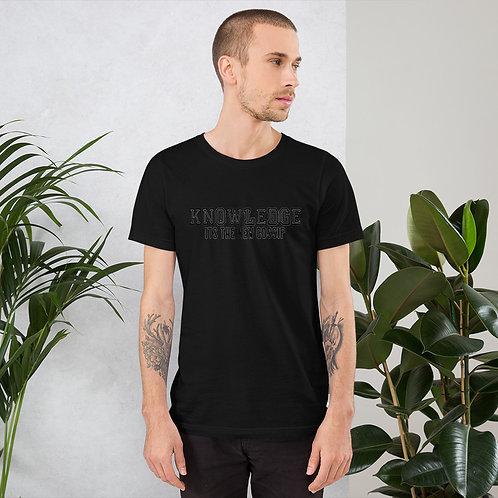 KNOWLEDGE Short-Sleeve Unisex T-Shirt
