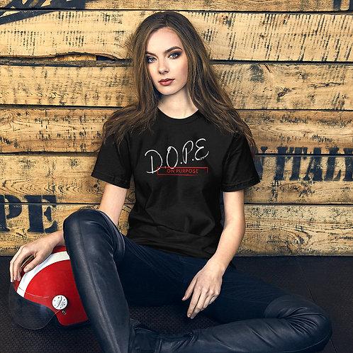 Short-Sleeve D.O.P.E Unisex T-Shirt